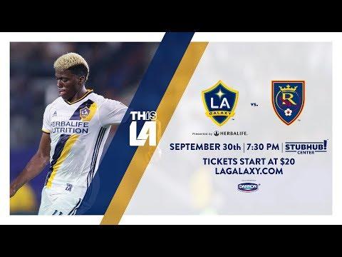 Video: TEASER: LA Galaxy vs. Real Salt Lake | September 30th, 2017