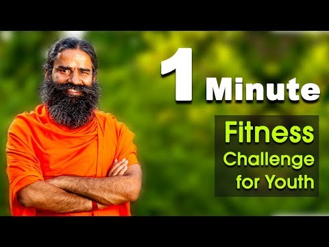 One-Minute Fitness Challenge for Youth