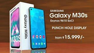 Samsung Galaxy M30s - Punch Hole Display, 5000mAh Battery, Exynos 9610 | Galaxy M30s