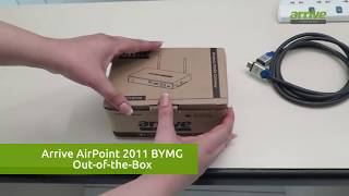 Arrive AirPoint 2011 BYMG Out-of-the-Box