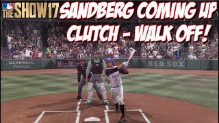Sandberg coming up clutch!!  Leave a Like and Subscribe for MLB The Show 17!➠Twitter - https://twitter.com/KPritz21Check out my MLB The Show 17 Playlists!➠ Ranked Seasons - https://www.youtube.com/playlist?list=PL5AHVL-omk8OB2IzhUoDwOmGViHd4BYvC➠ Epics, Missions, Packs & Programs - https://www.youtube.com/playlist?list=PL5AHVL-omk8PzjCnMDW8Efqr-wuc_sydQ➠ Road To The Show - https://www.youtube.com/playlist?list=PL5AHVL-omk8PmZI0c52cTu0iLCTt7OZ5hThanks for Watching!!