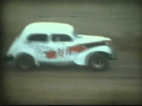 Old Time Racing (Part 1) - NASCAR at Peace Haven Speedway 1953-54
