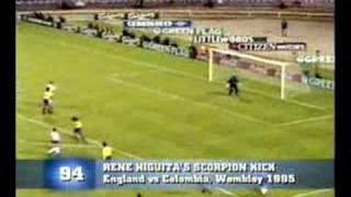 Rene Higuitas Scorpion Kick
