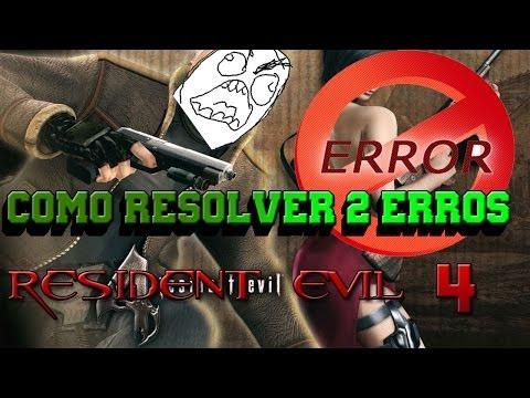 Resident evil 4 Resolvendo 2 Erro Do d3dx9_30.dll e Game.exe Parou De Funcionar