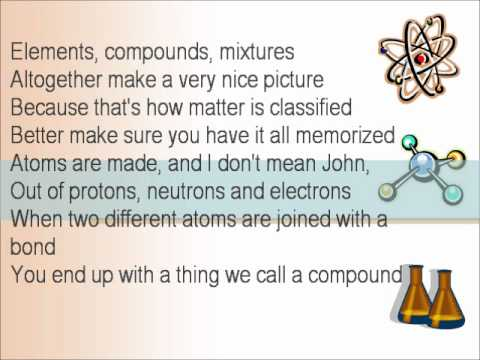 Atoms and bonding bond bonding bonds covalent ionic network tagsmr lee chemistry rap protons electrons neutrons homogeneous heterogeneous elements compounds mixtures atoms physical chemical urtaz
