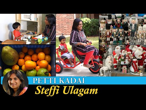 Alandra's Petti Kadai | Garden Fruits | Christmas Shopping Vlog in Tamil