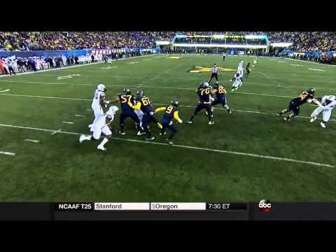 Paul Dawson vs West Virginia 2014 video.