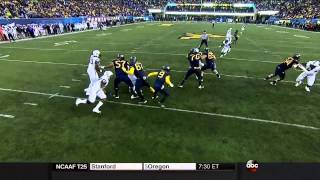 Paul Dawson vs West Virginia (2014)