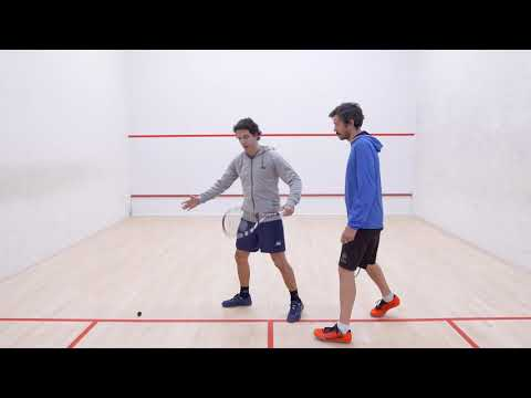 Squash tips: No lets with Lee Drew - What is a no let?