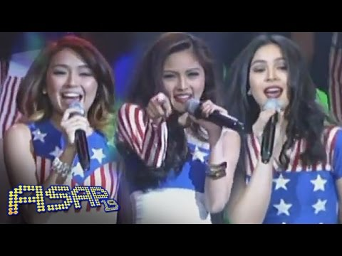 julia - Kim Chiu, Julia Barreto and Kathryn Bernardo performs 'California' Girls' for our fellow kababayans in Los Angeles. Subscribe to the ABS-CBN Online channel! - http://bit.ly/ABSCBNOnline Watch...