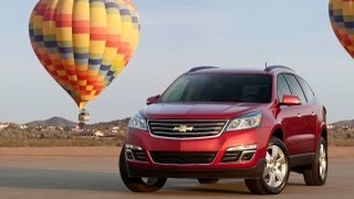 2013 Chevrolet Traverse First Drive&Review: Chevy's Not So Extreme Makeover Reviewed