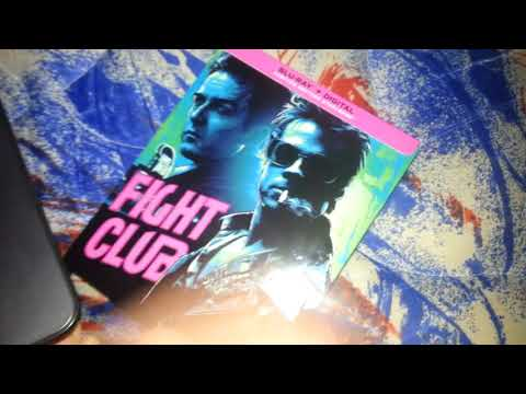 Unboxing Fight Club Blu Ray Steelbook