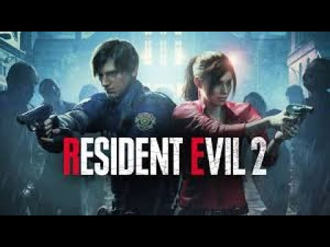Resident Evil 2 Claire Redfield 2nd run and looking at some art work and bonuses