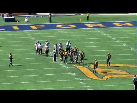 Deandre Coleman sack vs Southern Utah video.