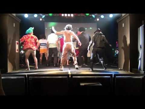 【麦わら海賊団の本気ダンス】ワンピースをガチで踊ってみた@club SARU