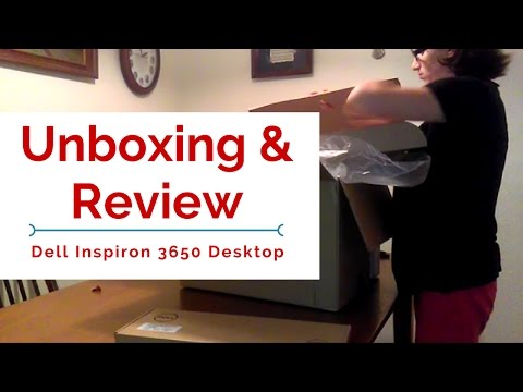 Dell Inspiron Desktop 3650 | Unboxing & Review