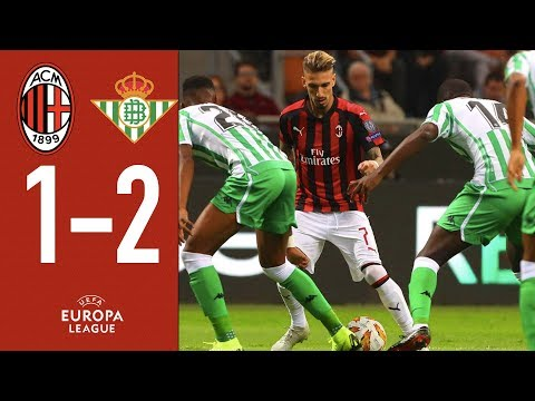 AC Milan 1-2 Real Betis - Highlights - Europa League Group F Matchday 3
