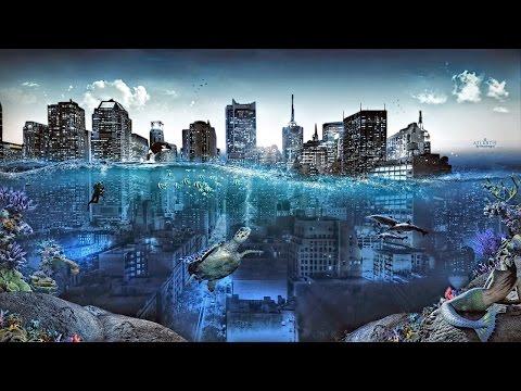 مدينة كاملة تحت الماء