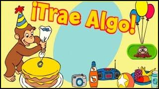 ♡ Curious George /Jorge el Curioso - Trae iAlgo Juego Educativo Para Los Niños Spanish / Español