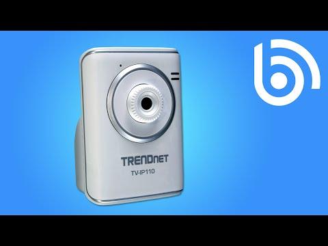 TRENDnet TV-IP110 SecurView Internet IP Camera