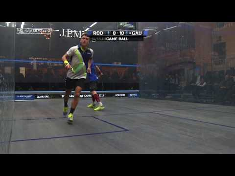 Squash tips: Attacking with the lob by Peter Nicol