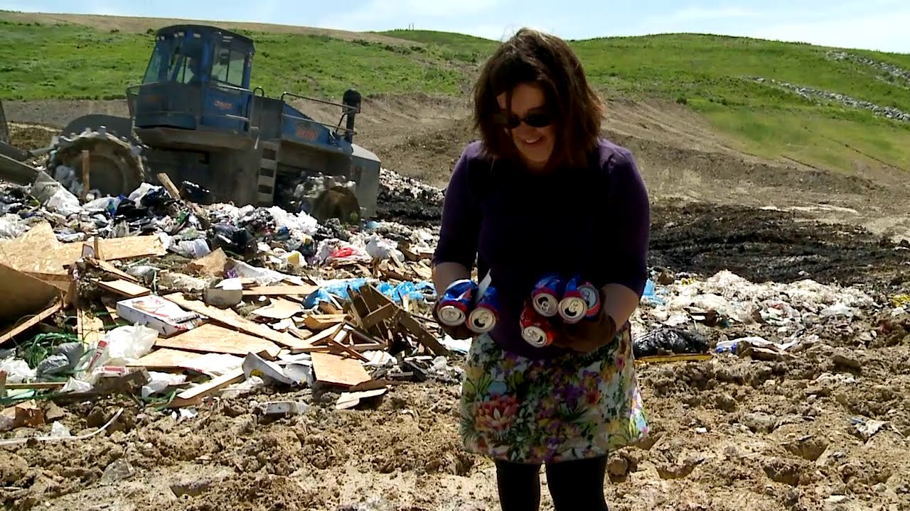 Diverting Recyclables from the Columbia Landfill