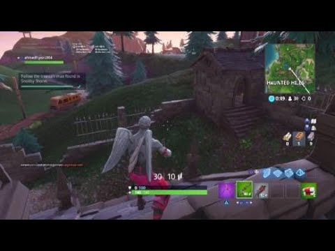 Follow the treasure map found in snobby shores location fortnite week 5 treasure map