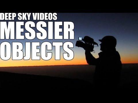 Messier-Objekte - Videos von weitem Himmel