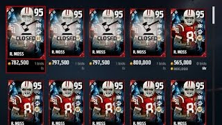 EA PRICE FIXING 95 RANDY MOSS!!! - Madden Ultimate Team 17