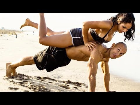 HOT Fitness couple KILLER WORKOUT!!! (видео)