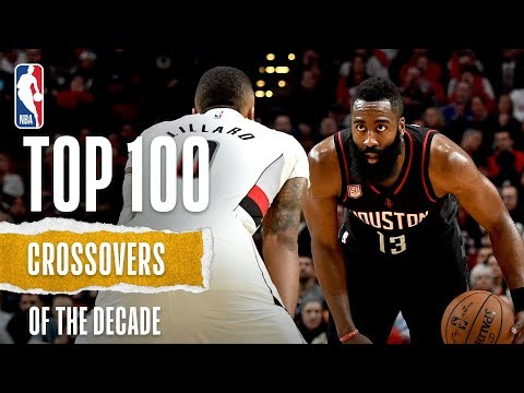 NBA's Top 100 Crossovers Of The Decade