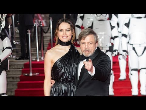 Star Wars The Last Jedi European Premiere Red Carpet