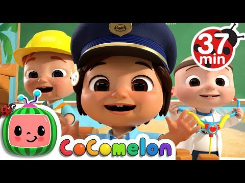 Jobs and Career Song +More Nursery Rhymes & Kids Songs - CoCoMelon - Thời lượng: 37 phút.