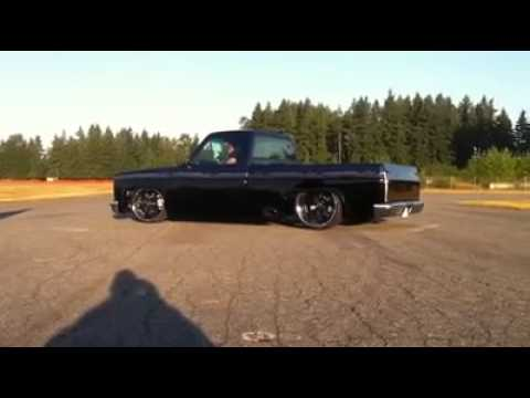 chevy burnout for magazine shoot blown 572