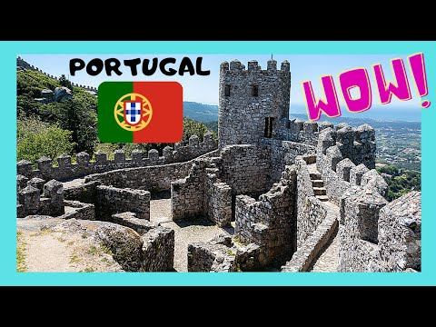 Historic Castelo dos Mouros (Caste of the Moors), Sintra, Portugal (видео)