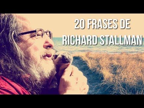 Frases celebres - 20 FRASES DE RICHARD STALLMAN