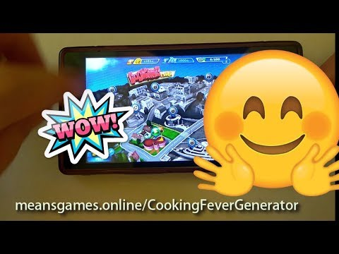Cooking Fever Hack 🤫 2019 🤫 - Coins And Gems (Android/iOS) #cookingfever