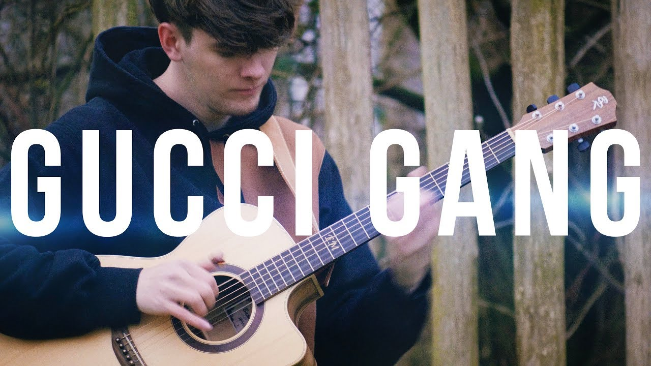 Gucci Gang – Lil Pump – Fingerstyle Guitar Cover