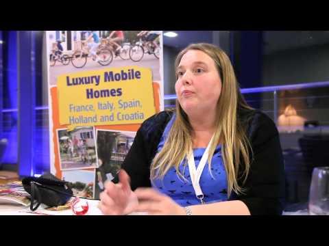 Mary O'Grady, Crystal Al Fresco, Travel Industry Road Show March 2014