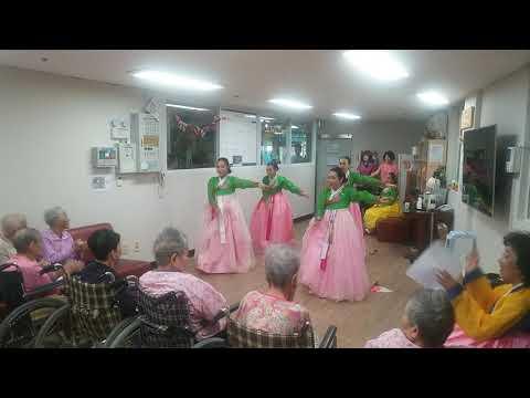 빛고을전통문화예술단 대외활동 - 조은요양원 위문공연