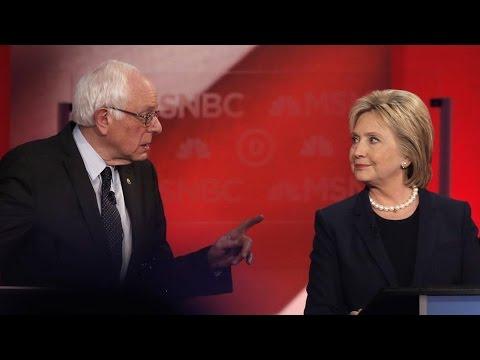 Sanders & Clinton Spar on 2002 Iraq Vote; Clinton Praises Henry Kissinger