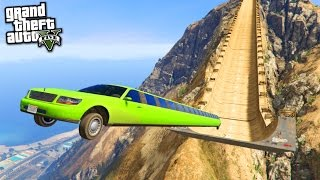Video MEGA RAMP LIMOUSINE GTA 5 ! MP3, 3GP, MP4, WEBM, AVI, FLV November 2017
