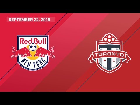 Video: Match Highlights: Toronto FC at New York Red Bulls - September 22, 2018