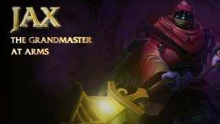 Welcome to the League of Legends Champion Spotlight. Bring your enemies to the light with Jax, Grandmaster at Arms. Check ...