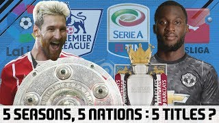 5 Seasons, 5 Nations : 5 Titles? - FIFA Career Mode Journeyman Challenge