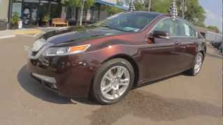 Autoline's 2009 Acura TL 3.5 Walk Around Review Test Drive