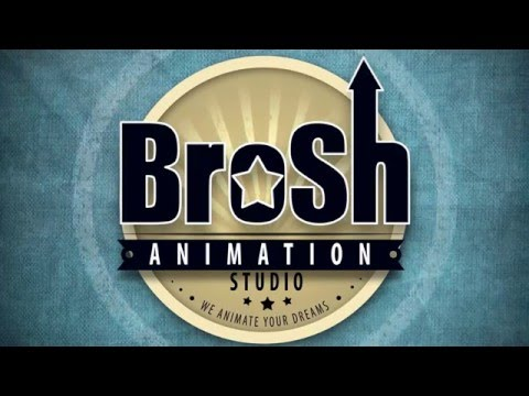 Анимация логотипа для  Brosh Animation