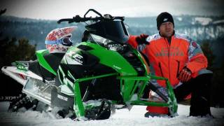 9. 2012 Arctic Cat F1100 Turbo SnoPro Test Ride