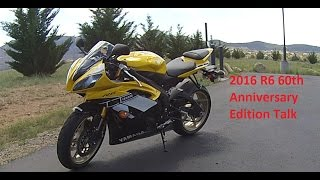 "6. 2016 Yamaha R6 60th Anniversary Talk First ""Ride"""