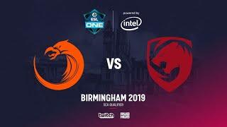 TNC vs Tigers, ESL Birmingam SEA Quals, bo3, game 2 [Eiritel]